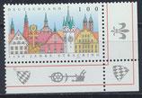 BRD 1910 postfrisch mit Eckrand rechts unten