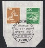 BERL 670+671   mit Ersttagsonderstempel
