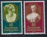741-742  postfrisch (LIE)