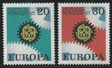 BRD 533-534  postfrisch