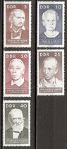 DDR 1293-1297  postfrisch