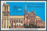 WIPA 1982 Block-Sonderausgabe postfrisch (VA)