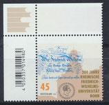 BRD 3360 postfrisch mit Eckrand links oben