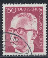 BERL 431 gestempelt
