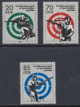 DDR 3045-3047 postfrisch