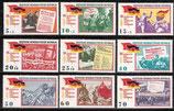 1102-1110 postfrisch (DDR)