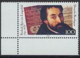 BRD 1503 postfrisch mit Eckrand links unten