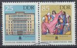 DDR 3038-3039 gestempelt Zusammendruck