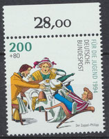 BRD 1730 postfrisch Bogenrand oben (RWZ 28,00)