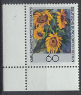 BERL 728 postfrisch mit Eckrand links unten