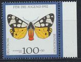 BRD 1605 postfrisch mit Bogenrand rechts