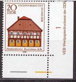 DDR 2295 postfrisch mit Eckrand rechts unten