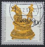 BRD 1634  gestempelt