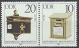 2925-2924 postfrisch WZD619 (DDR)