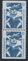 BRD 1347 C/D gestempelt senkrechtes Paar