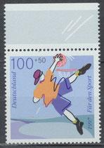 1900 postfrisch Bogenrand oben (BRD)
