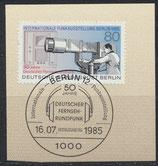 BERL 741   mit Ersttagsonderstempel