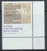 BRD 3277 postfrisch mit Eckrand rechts unten