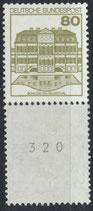 BRD 1140 R postfrisch Dreierstreifen