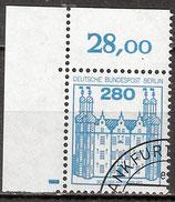 BERL 676 gestempelt Eckrand links oben (RWZ 28,00)
