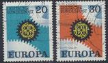 BRD 533-534 gestempelt