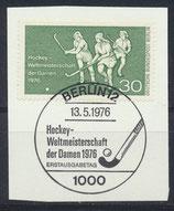 BERL 521  gestempelt mit Ersttagssonderstempel