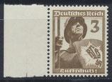 DR 643 postfrisch mit Bogenrand links