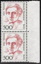 830 postfrisch senkrechtes Paar mit Bogenrand rechts  (BERL)