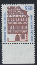 BRD 1746 postfrisch mit Bogenrand unten
