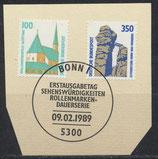 BRD 1406-1407  mit Ersttagsonderstempel