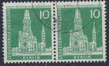 BERL 144 gestempelt waagrechtes Paar