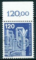 BERL 503  postfrisch mit Bogenrand oben (RWZ 120,00)