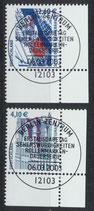 BRD 2322-2323 gestempelt mit Eckrand rechts unten
