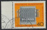 BRD 778 gestempelt mit Bogenrand links
