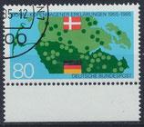 BRD 1241 gestempelt mit Bogenrand unten