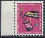 DDR 1131 postfrisch mit Bogenrand links