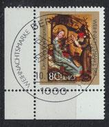 BRD 1161 gestempelt mit Eckrand links unten