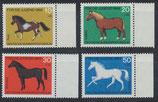 BERL 326-329  postfrisch mit Bogenrand rechts