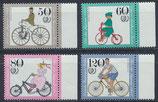 BERL 735-738  postfrisch mit Bogenrand rechts