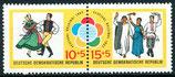 905-906 postfrisch Zusammendruck (DDR)
