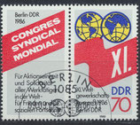 DDR 3049 philat. Stempel Zusammendruck