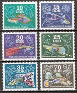 2176-2181 postfrisch (DDR)