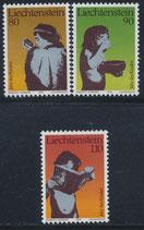 725-727 postfrisch (LIE)