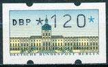 120 (Pf) ATM 1 postfrisch (BERL)