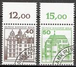 BERL 614-615 gestempelt Bogenrand oben (RWZ)