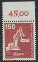 BERL 584 postfrisch mit Bogenrand