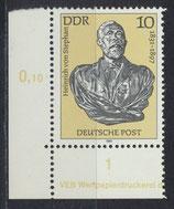 DDR 2579 DV postfrisch Eckrand links unten