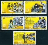 2583-2587 postfrisch (DDR)