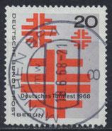 BERL 321 gestempelt