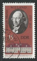 DDR 1857   philat. Stempel